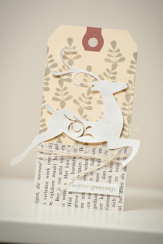 Winter Greetings tag