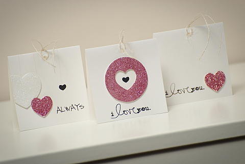 Mini Valentine tags