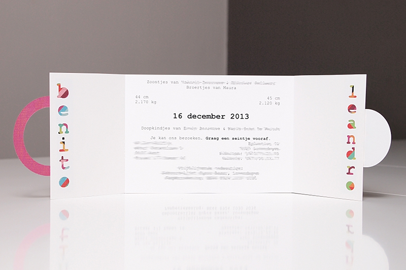 Welcome to the World   Birth Announcements by Els Brigé