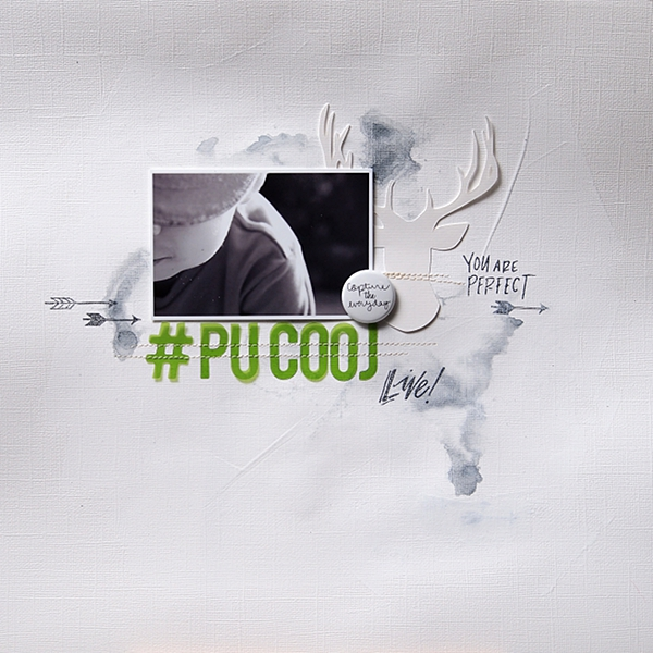 #pucooj by Els Brigé for A Flair For Buttons