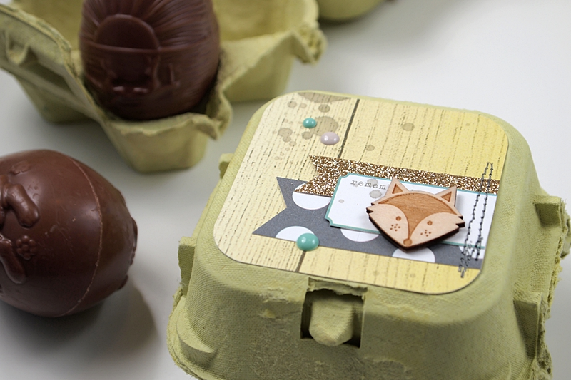 Easter Egg Containers by Els Brigé for Studio Tekturek