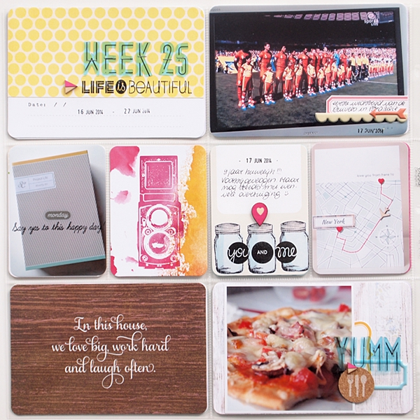 Project Life | Week 25 by Els Brigé for Pinkfresh Studio