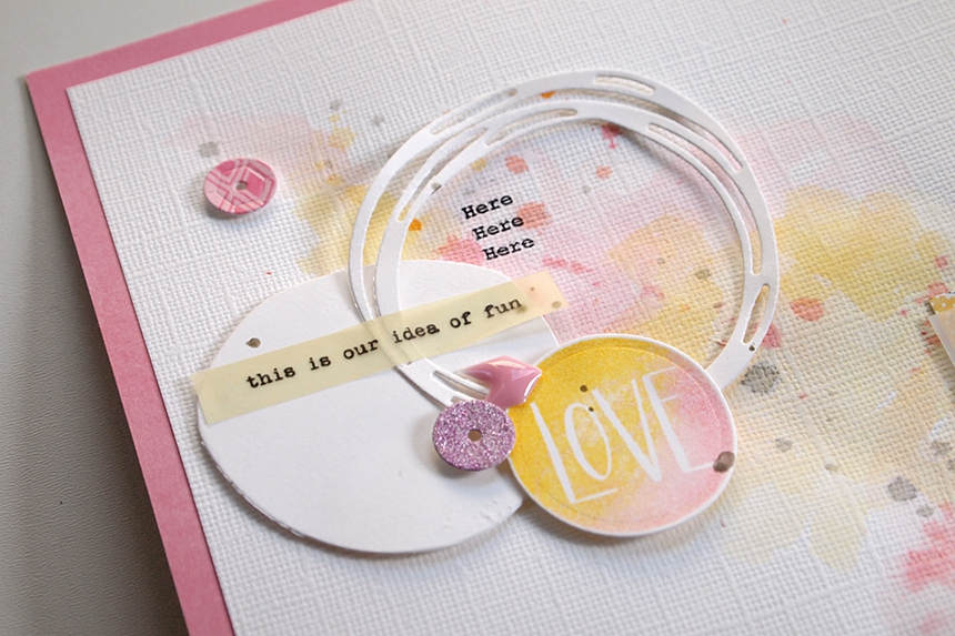Dreams by Els Brigé for Pinkfresh Studio + Neat & Tangled Blog Hop