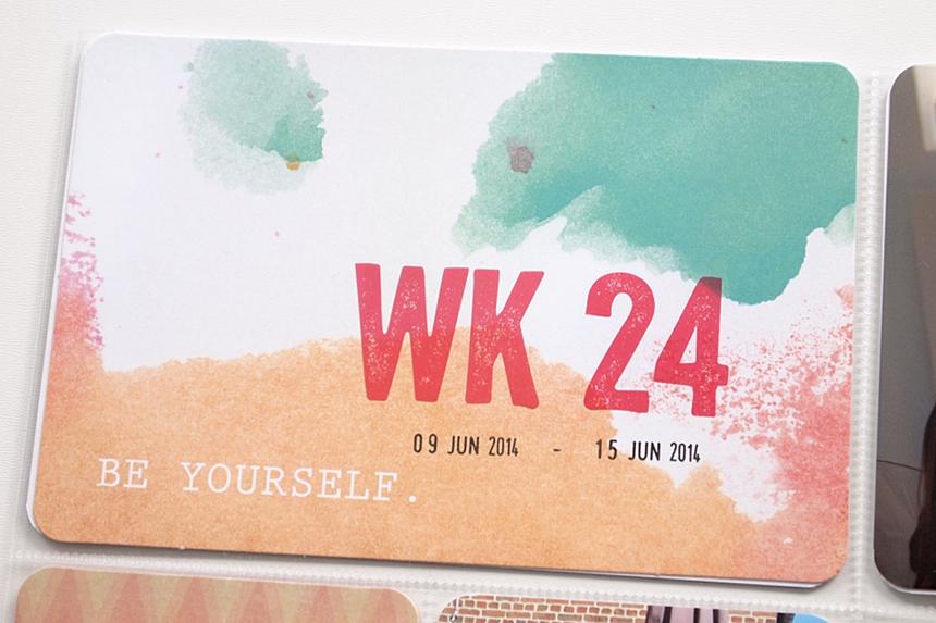Project Life   Week 24 by Els Brigé