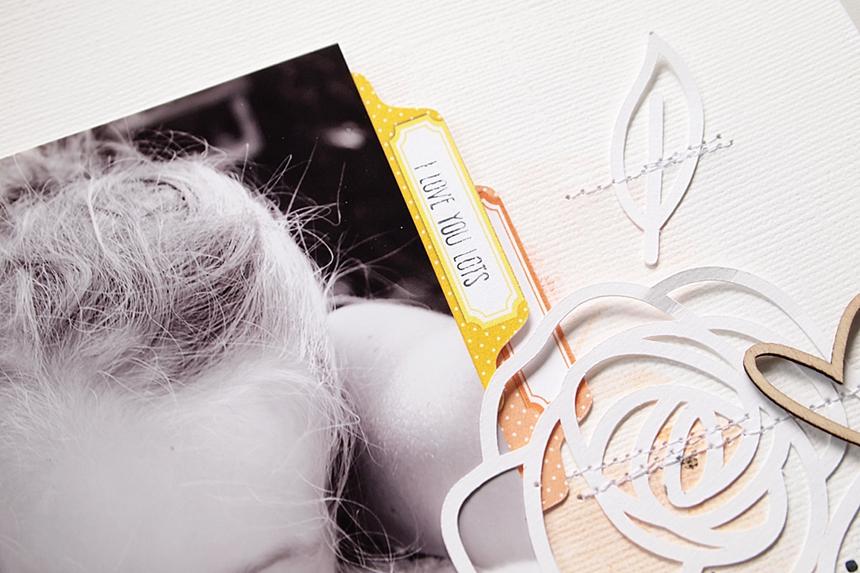 Pure Bliss by Els Brigé for Pinkfresh Studio + Pretty Little Studio Blog Hop