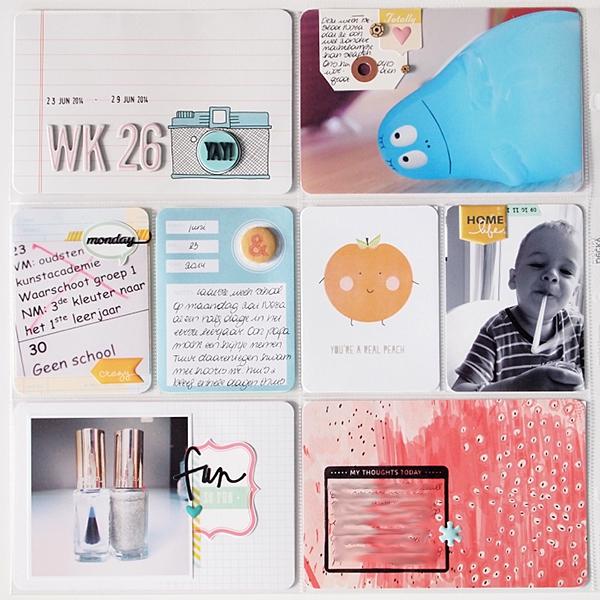 Project Life   Week 26 by Els Brigé