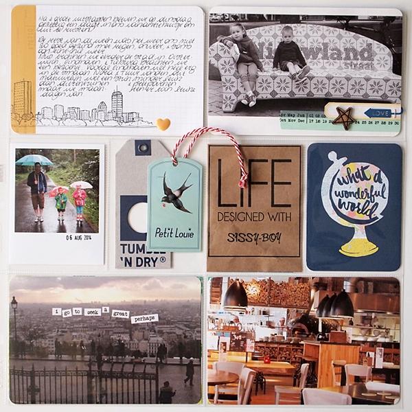 Project Life | Week 32 by Els Brigé