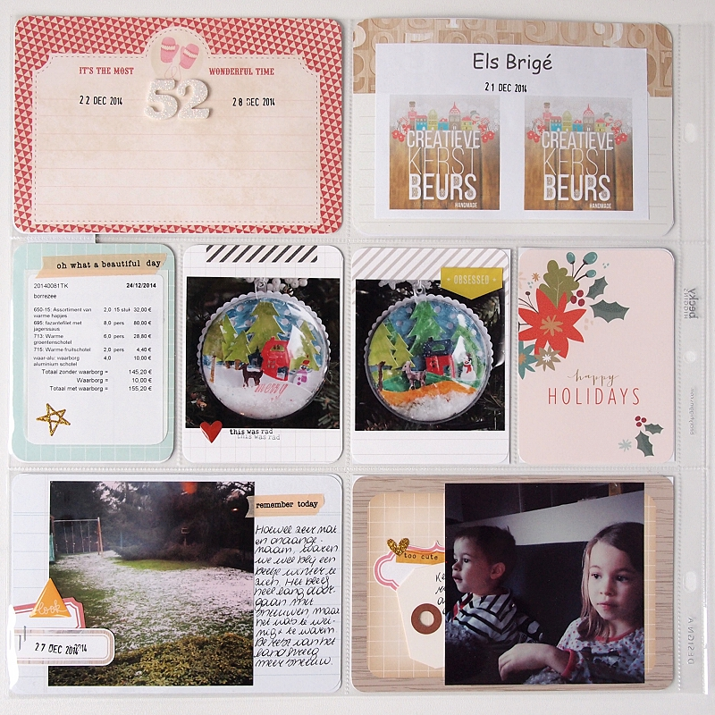 Project Life | Week 52 by Els Brigé for Becky Higgins DT