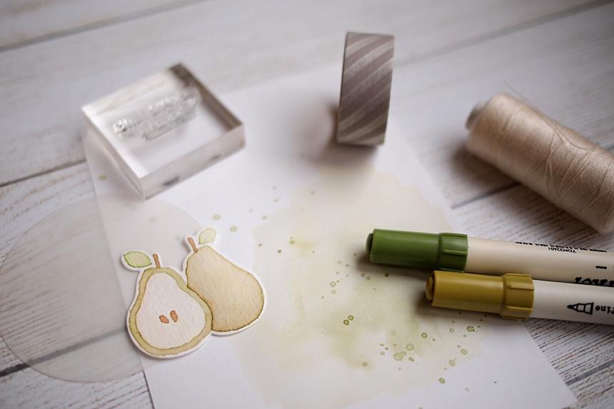 We Make Quite the Pear by Els Brigé