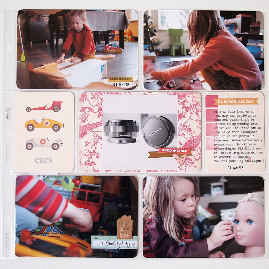 Project Life 2015 | Week 1 by Els Brigé
