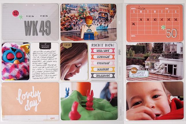 Project Life | Week 50 by Els Brigé