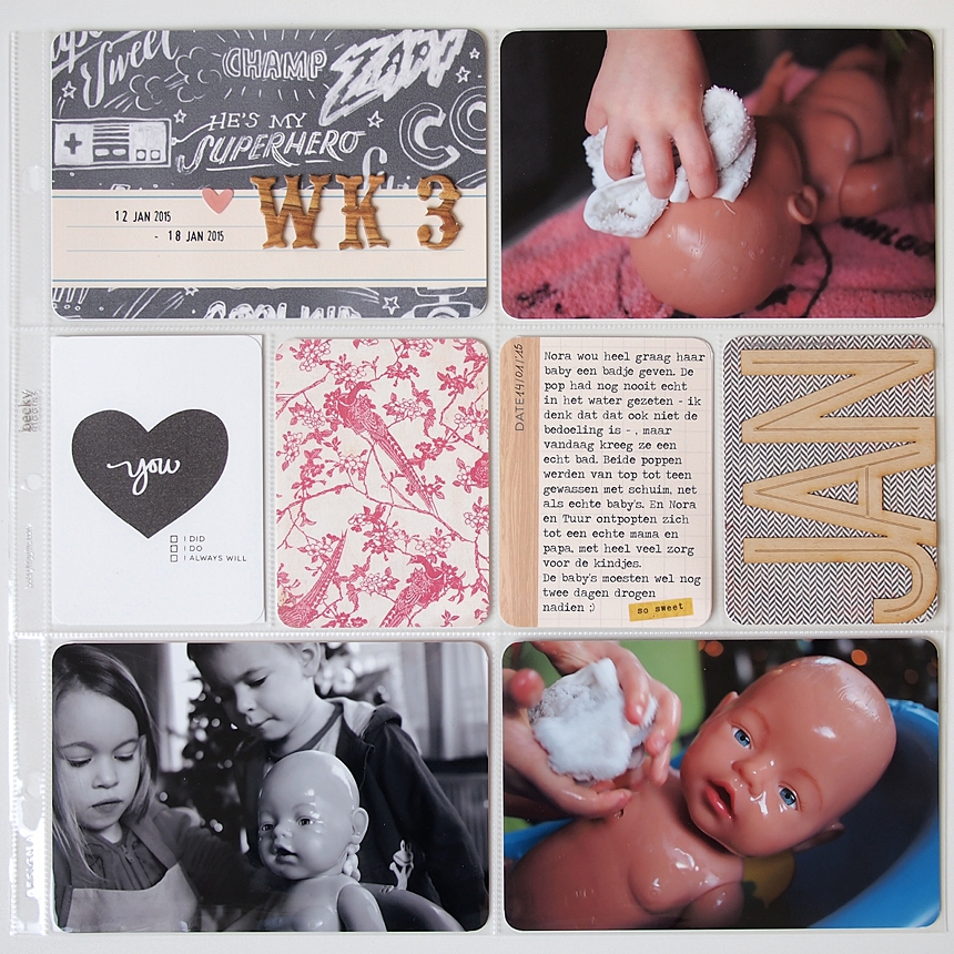 Project Life 2015   Week 3 by Els Brigé for Becky Higgins DT