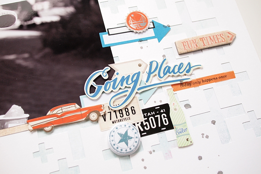 Going Places by Els Brigé for A Flair For Buttons