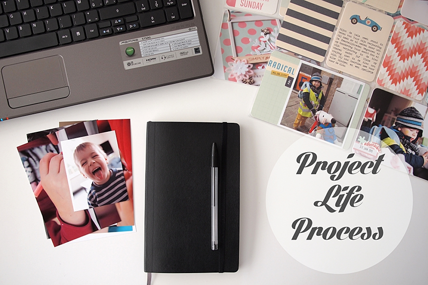 Project Life Process series by Els Brigé