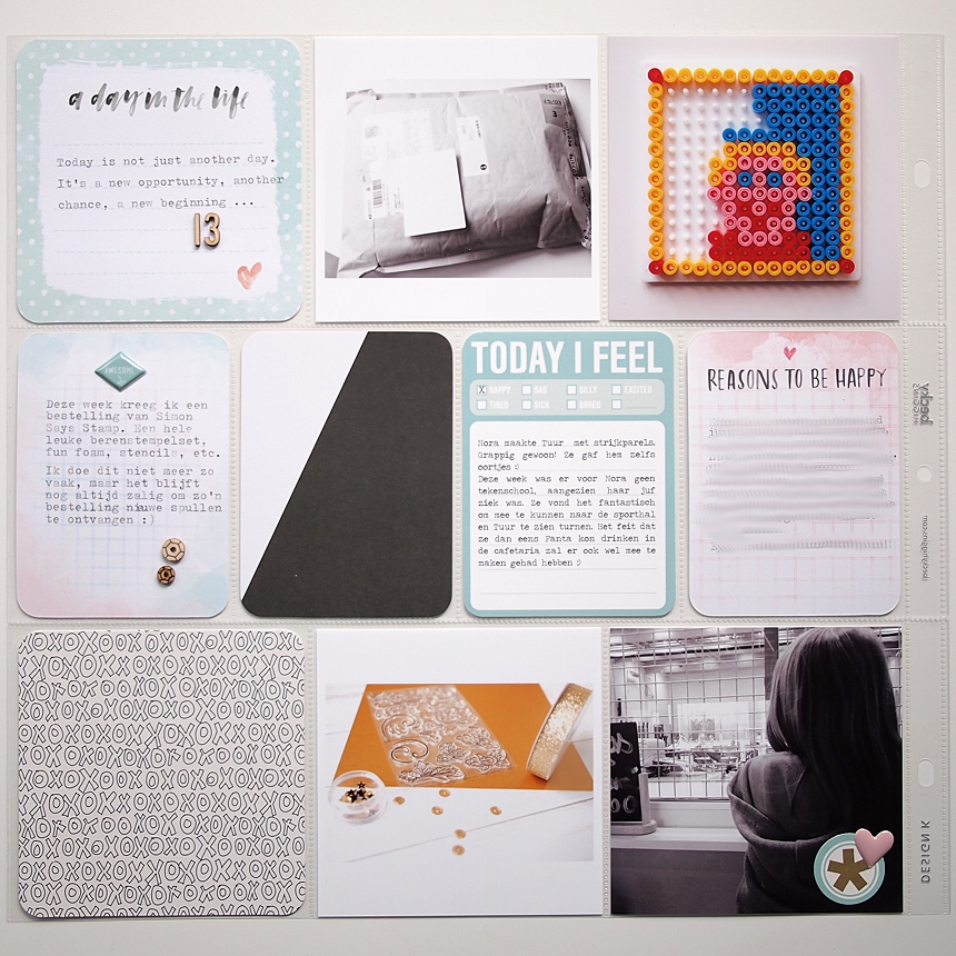 Project Life 2015 | Week 13 by Els Brigé for Becky Higgins DT
