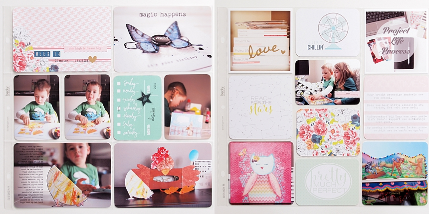 Project Life 2015 | Week 14 by Els Brigé for Becky Higgins DT