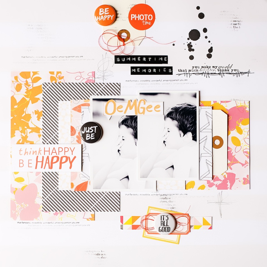 Project by Marinette Lesne for Bestamped The Weekend Guest Post