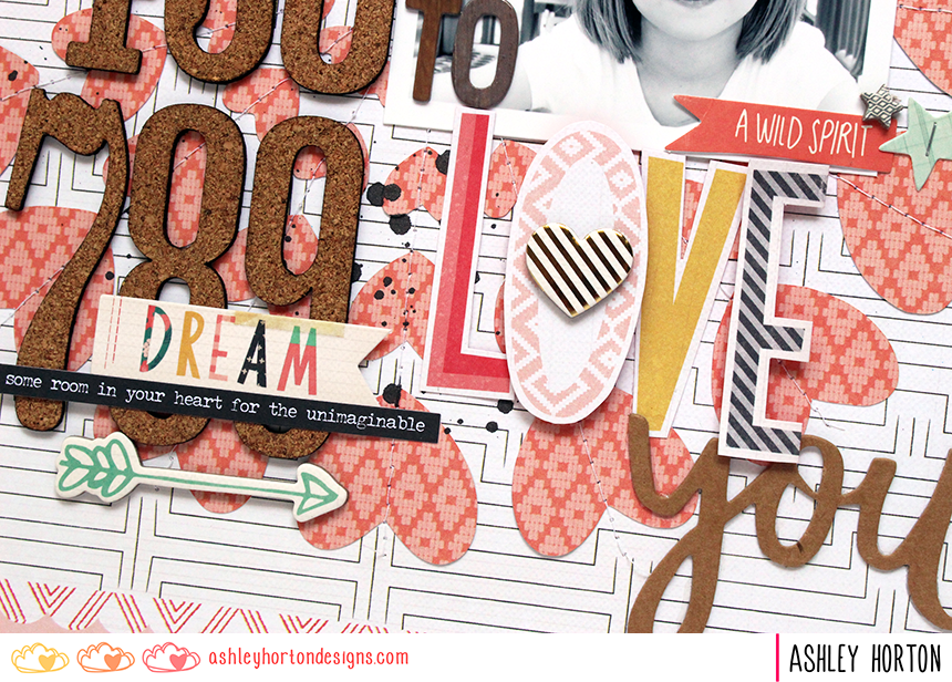 Project by Ashley Horton for Bestamped The Weekend Guest Post